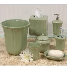 brown and green bathroom accessories. Captivating Skyros Designs Royale Sage Green Bath Accessories From Portugal At Bathroom Brown And