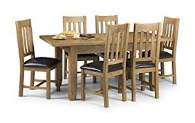 julian bowen astoria oak extending dining table set light oak table and 6 chairs