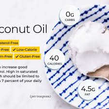 Coconut Oil Nutrition Calories And Health Benefits