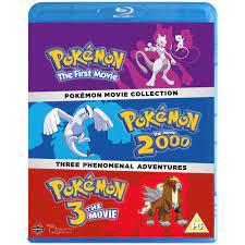Pokemon Movie Collection Blu-ray