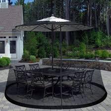 patio table umbrella mosquito net heavy