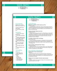 Colourful and elegant, this resume is sure to help you stand out from the  crowd.