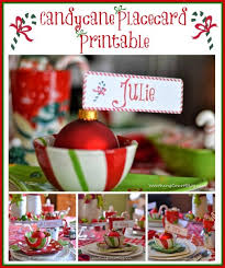 christmas placecard templates free cute christmas place card printable worthing court