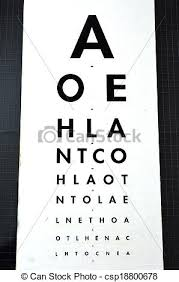 Eye Exam Snellen Chart Eye Examination Snellen Chart