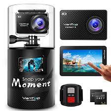 VanTop 4K Action <b>Camera</b> 20MP Moment 4 Underwater <b>Waterproof</b> ...