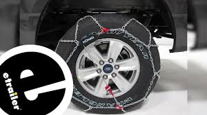Konig T2 Magic Snow Chains Size Chart Etrailer Konig Self Tensioning Snow Tire Chains Installation 2017 Ford F 150