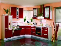 Kitchen Cabinets Red And White Innovative Small Kitchen Cabinet Ideas With Red And White Cabinet
