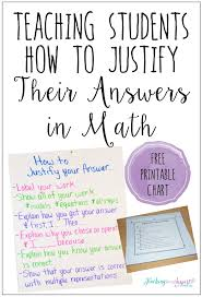 teaching students to justify their work in math doesn t have to be difficult