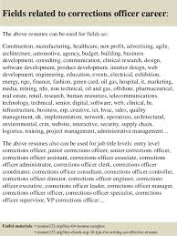 top  corrections officer resume samples       fields related to corrections officer