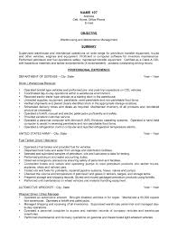 Resume Warehouse Resume Work Template