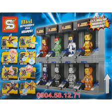 Đồ chơi LEGO Heroes Assemble - Bộ sưu tập các Bộ giáp của Iron Man - SY1169