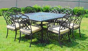 cast aluminum patio chairs. Patio Furniture Dining Sets Cast Aluminum Chairs