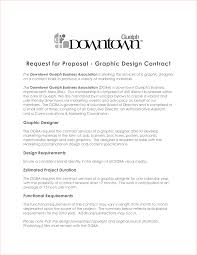 Graphic Design Proposal Example Graphic Design Freelance Contract Template With Sample Graphic 5