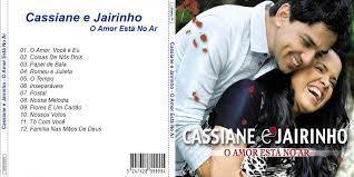 Gospel Capas: Cassiane e Jairinho - O Amor Está No Ar CD