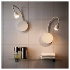 ikea wall lighting. Remarkable Battery Operated Picture Wall Lights As Well Blåvik Led Lamp White Ikea Lighting T