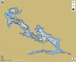 Talon Lake Fishing Map Ca_on_talon_lake_on Nautical
