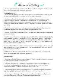 Quality Manual Template Sample Operations Manual Template Casio Casio Micro Camper Build 12