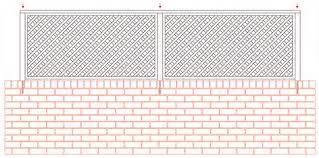 trellis and slatted fence panels