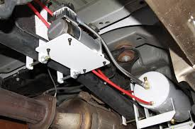 on board air compressor. 11) mounting the onboard air compressor on board