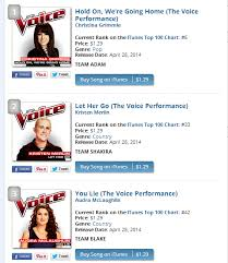 Top Charts Itunes 2014 The Voice Season 6 Top 10 Itunes Chart Whatilike