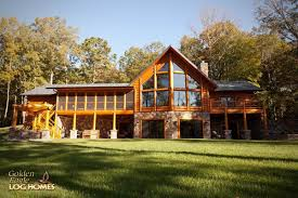 cottage style house plans with walkout basement inspirational log home by golden eagle log homes prow