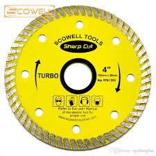 4 105mm wave style diamond saw blades for porcelain tile turbo saw blade pressed sintered mesh disc tile cutter saw blade tile turbo saw blade disc tile