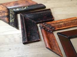custom picture frames. Hand-crafted Leather Frames Custom Picture Frames