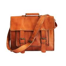 inches leather cross messenger laptop
