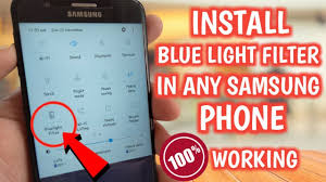 Blue Light Apk How To Install Blue Light Filter In Any Samsung Phone 8 0