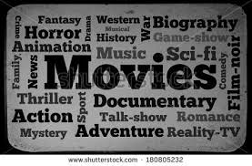 types of movies movies word cloud on old tv stock illustration 180805232 shutterstock