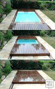 retractable pool cover. Retractable Pool Cover Wooden Covers Custom Rolling Deck Fitted Pools Swimming T