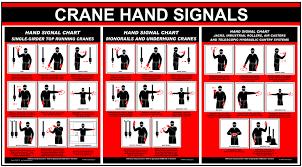 Crane Hand Signals Top Running Monorail Underhung Jacks Sign Crane 176