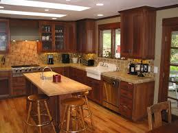 trendy oak cabinet kitchen at elegant red oak kitchen cabinets red unfinished red oak flooring