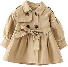 FullGood Toddler <b>Girl Spring Autumn</b> Windbreaker Jacket <b>Trench</b> ...