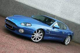 2002 Aston Martin Db7 Gta Very Rare In Vertigo Blue Sold Car And Classic