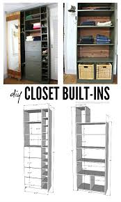 walk in closet makeover with built ins free plans