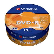 Купить <b>DVD</b>-<b>R диск Verbatim</b> 16xShr.25шт.(43730) в каталоге ...