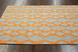 orange outdoor rug amazing rugs hand woven area rug reviews within orange and blue area rug