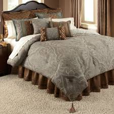 com nicole millerfull duvet cover set grey taupe design stunning shelburne tan pc 6 queen