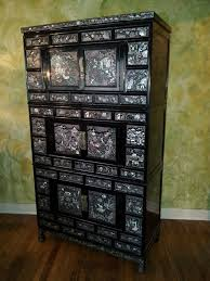 korean modern furniture dpvl. Korean Armoire With Mother-of-Pearl Inlay. Made In Korea, Vintage Three Modern Furniture Dpvl K