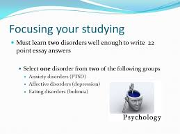 affective disorders depression terminology symptomology  3 focusing