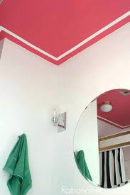 paint for ceiling pink and white trim painted ceiling design o painted ceiling designs o tips paint for ceiling