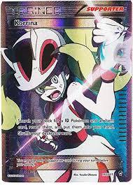Pokemon X Y Furious Fists Single Card Ultra Rare Full Art Korrina 111 -  ToyWiz