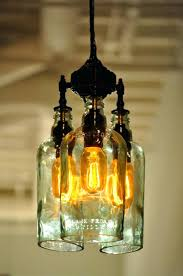 recycled glass chandelier bottle by tord boontje and emma woffenden diy recycled glass chandelier emery indoor outdoor