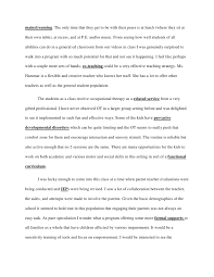 sample profile essay co classroom profile essay