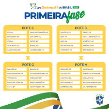 Copa do Brasil 2020: sorteio dos confrontos da primeira fase será realizado  na próxima quinta-feira | copa do brasil