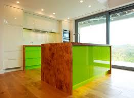 lime green parapan kitchen