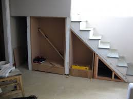 Under Stairs Storage Plans Diy Photo 65
