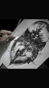 волк луна татуировка тату татуировка луна татуировки и тату