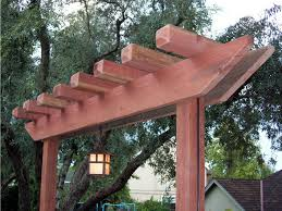 Small Picture How to Build a Redwood Arbor how tos DIY
